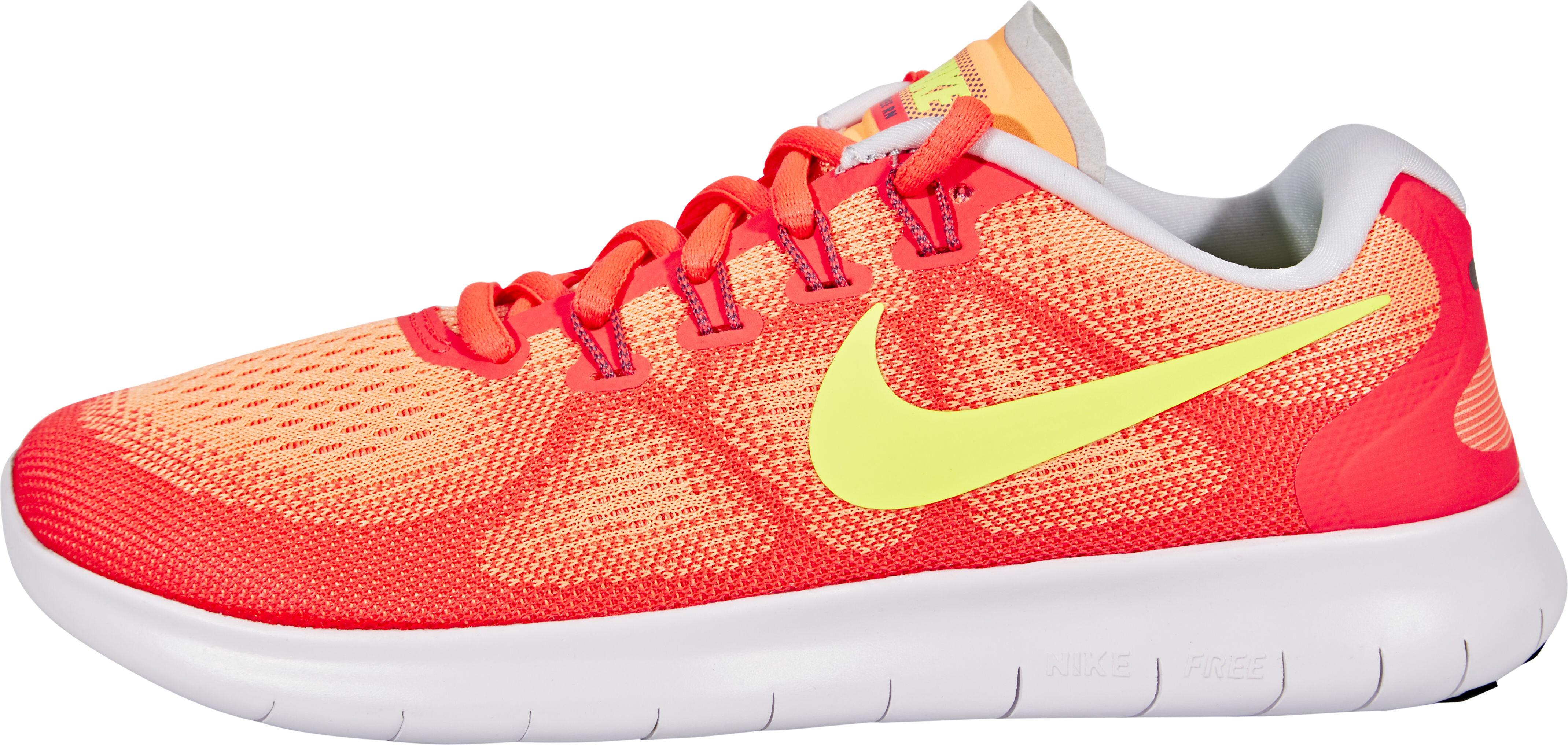 online store b2572 503e5 Nike Free RN 2 Running Running Shoes Women yellow orange